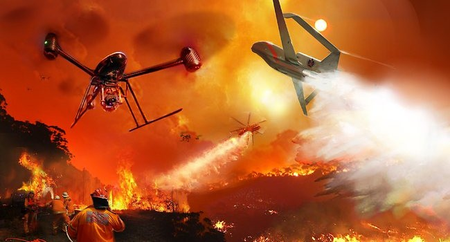 How thermal imaging can be used through fire fighting